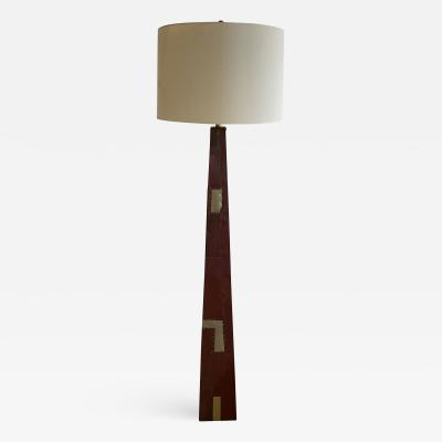 Tony Berlant American Modern Sculptural Steel and Enameled Floor Lamp Tony Berlant