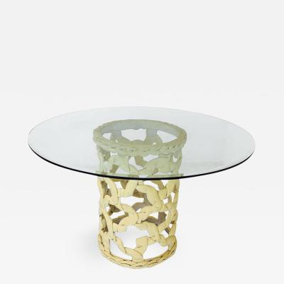 Tony Duquette Ribbon Dining Table by Tony Duquette