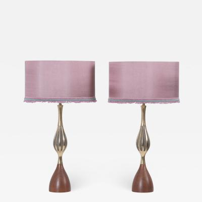Tony Paul Pair of Table Lamps by Tony Paul for Westwood Lightning