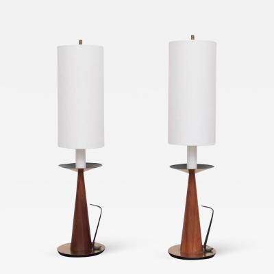 Tony Paul Pair of Tony Paul Table Lamps for Westwood Lighting