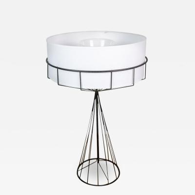Tony Paul Wire Table Lamp by Tony Paul for The Elton Company 1950s USA