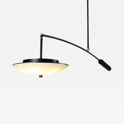 Topher Gent Draftsman No 1 Cantilever Steel LED Light Fixture by Topher Gent