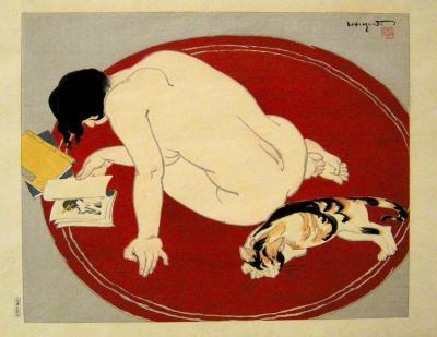 Toraji Ishikawa Leisure Time or Bored by Toraji Ishikawa 1934