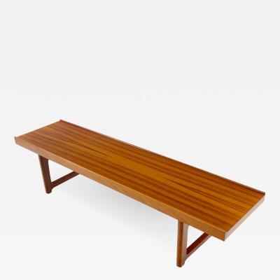 Torbj rn Afdal Danish Modern Korbo Teak Bench Designed by Torbjorn Afdal