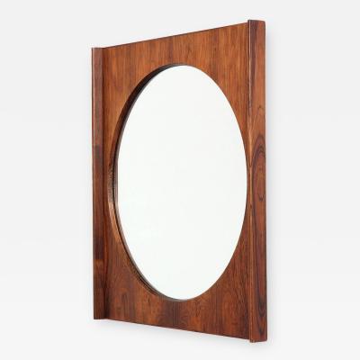Torbj rn Afdal Rosewood Wall Mirror by Torbj rn Afdal