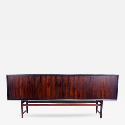 Torbj rn Afdal Scandinavian Modern Rosewood Sideboard Credenza Designed by Torbj rn Afdal
