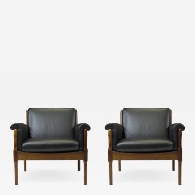 Torbj rn Afdal Torbj rn Afdal Rosewood Lounge Chairs