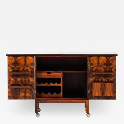 Torbjorn Afdal Bar Cabinet Model Times Produced by Mellemstrands M belfabrik Bruksbo