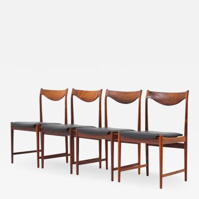 Torbjorn Afdal Scandinavian Midcentury Dining Chairs Model Darby by Torbj rn Afdal