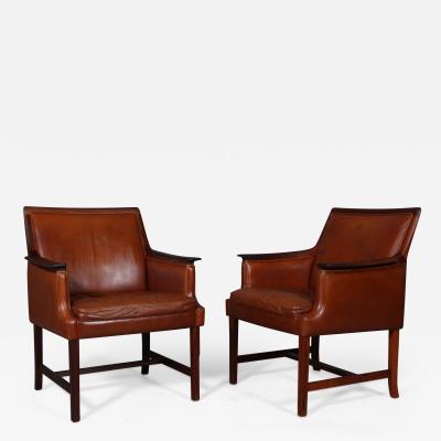 Torbjorn Afdal Torbj rn Afdal A pair of Minerva Club chairs 1960s