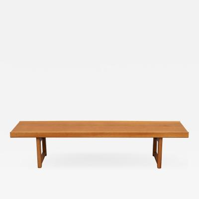 Torbjorn Afdal Torbj rn Afdal Krobo Teak Bench or Coffee Table