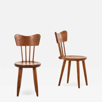 Torsten Claesson Dining Chairs Produced by Steneby Hemsl jd