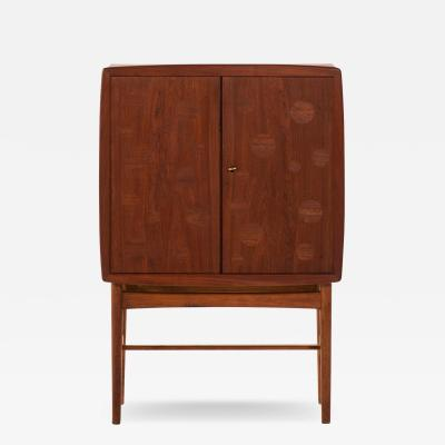 Tove Edvard Kindt Larsen Bar Cabinet Produced by Gustav Bertelsen