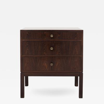 Tove Edvard Kindt Larsen Chest of Drawers in Rosewood