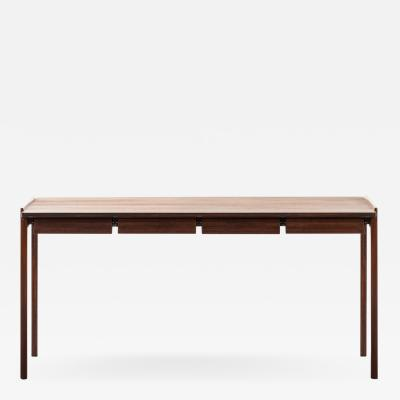 Tove Edvard Kindt Larsen Desk Produced by Cabinetmaker Thorald Madsens Snedkeri