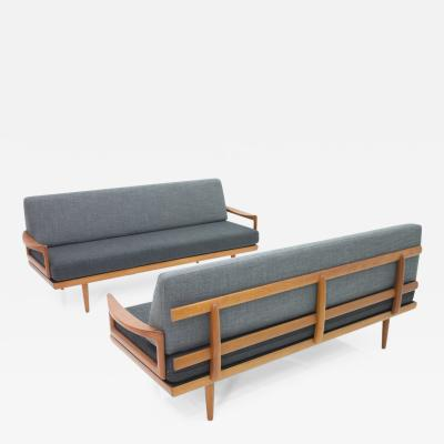 Tove Edvard Kindt Larsen Tove Edvard Kindt Larsen Sofa Daybed Bench by Gustav Bahus Norway 1960s