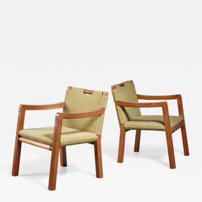 Tove Edvard Kindt Larsen Tove Edvard Kindt Larsen pair of chairs 1930s