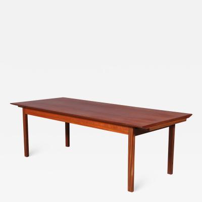 Tove Edvard Kindt Larsen Tove Edvard Kindt Larsen teak coffee table
