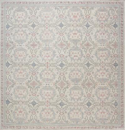 Traditional Inspired Oushak Design Rug