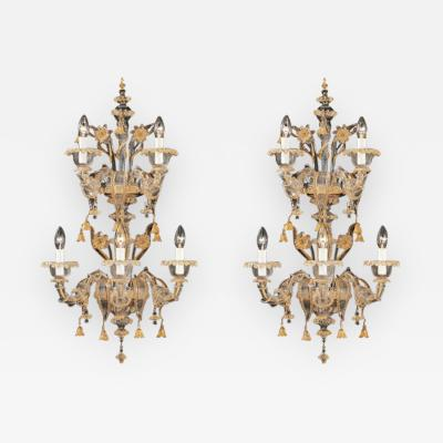Traditional Murano Large Sconces
