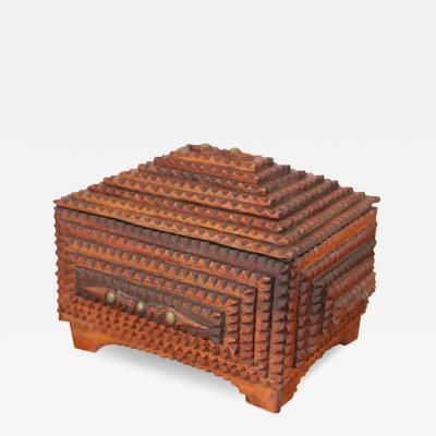 Tramp Art Keepsake Box
