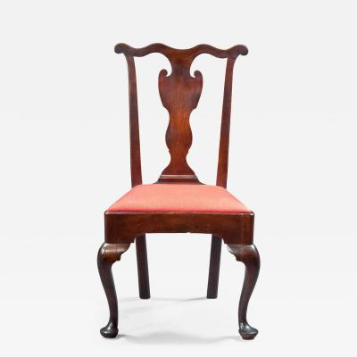 Transitional Queen Anne Chippendale Side Chair
