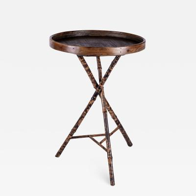 Tray Table on Bamboo Tripod Base