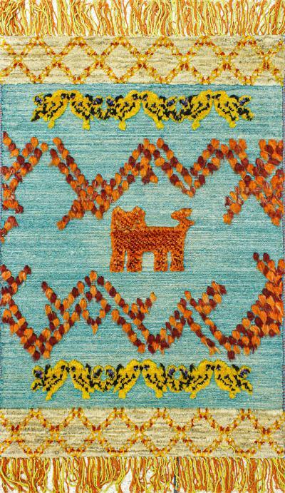 Tribal Fields 1 The Lion Collection NOV24 for Zollanvari Super Fine Gabbehs