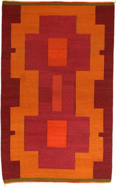 Trine Ellitsgaard Rectangulos Handmade Saasil Rug
