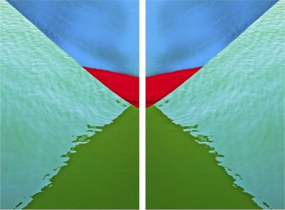 Tristan Govignon Abstract 1 Diptych