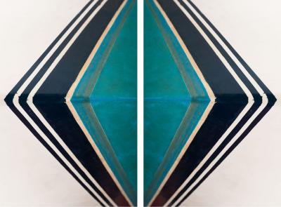 Tristan Govignon Diamond White Background