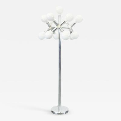 Trix Robert Haussmann 1950s Trix Robert Haussmann Floor Lamp for Swisslamps International