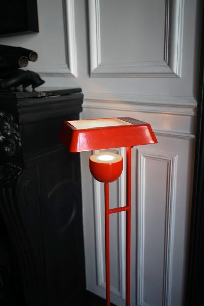 Trombone Floor lamp Tristan Auer