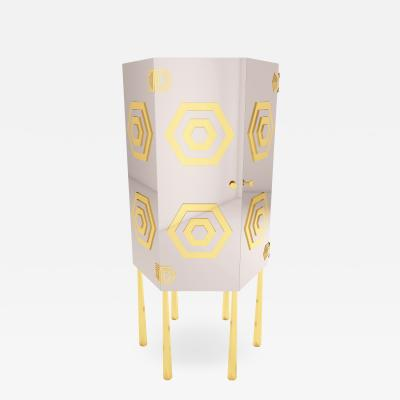 Troy Smith HEX CABINET BY ARTIST TROY SMITH CONTEMPORARY MODERN DESIGN