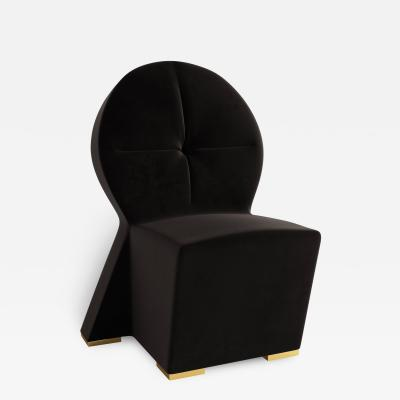 Troy Smith KEYHOLE LOUNGE CHAIR BY ARTIST TROY SMITH CONTEMPORARY DESIGN