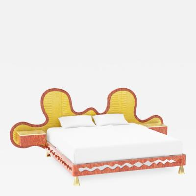 Troy Smith WAVE BED BY ARTIST TROY SMITH CONTEMPORARY DESIGN VERY LIMITED EDITION