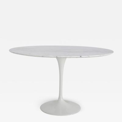 Tuilp table in 70s marble