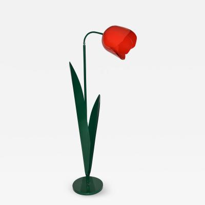 Tulip Floor Lamp Pop Art in Painted Metal by Bliss UK 1980