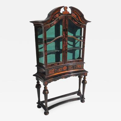 Turn of the Century Chinoiserie Display Cabinet