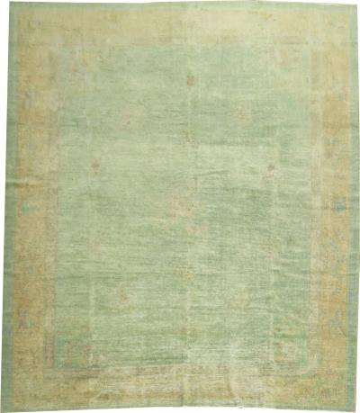 Turquoise Green Chinese Rug rug no j1547