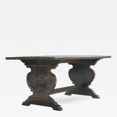 Tuscan Trestle Center Table