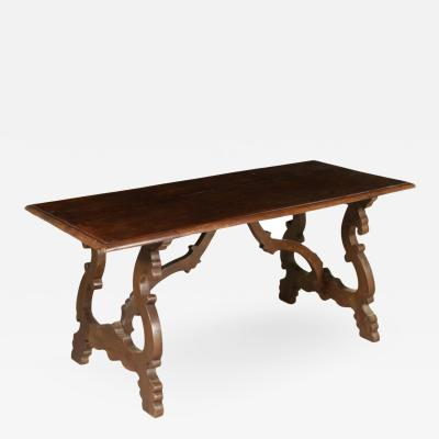 Tuscan Trestle Table 19th c