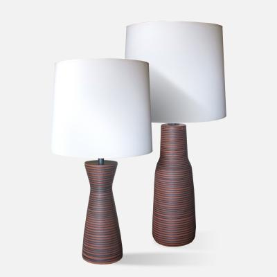 Two Ceramic Lamps