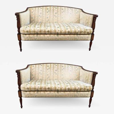 Two Regency Style Sofas