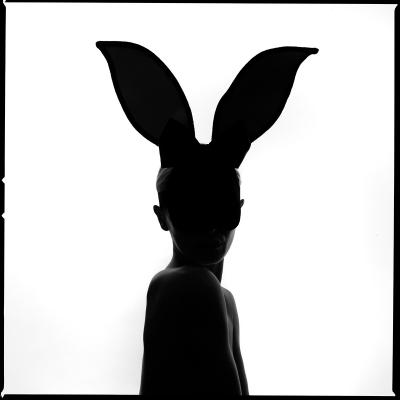 Tyler Shields Bunny Silhouette