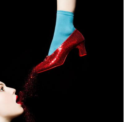 Tyler Shields Ruby Slippers