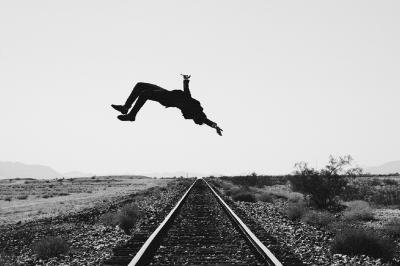 Tyler Shields Train Tracks