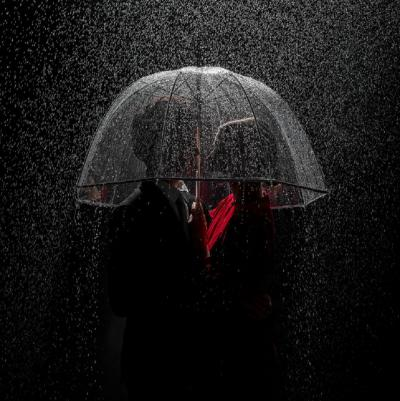 Tyler Shields Under the Rain
