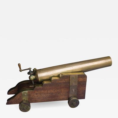 U S Navy Bronze 12lb Light Dahlgren Boat Howitzer