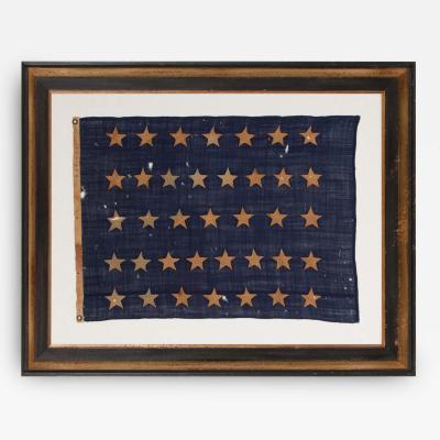 U S Navy Jack With 37 Stars